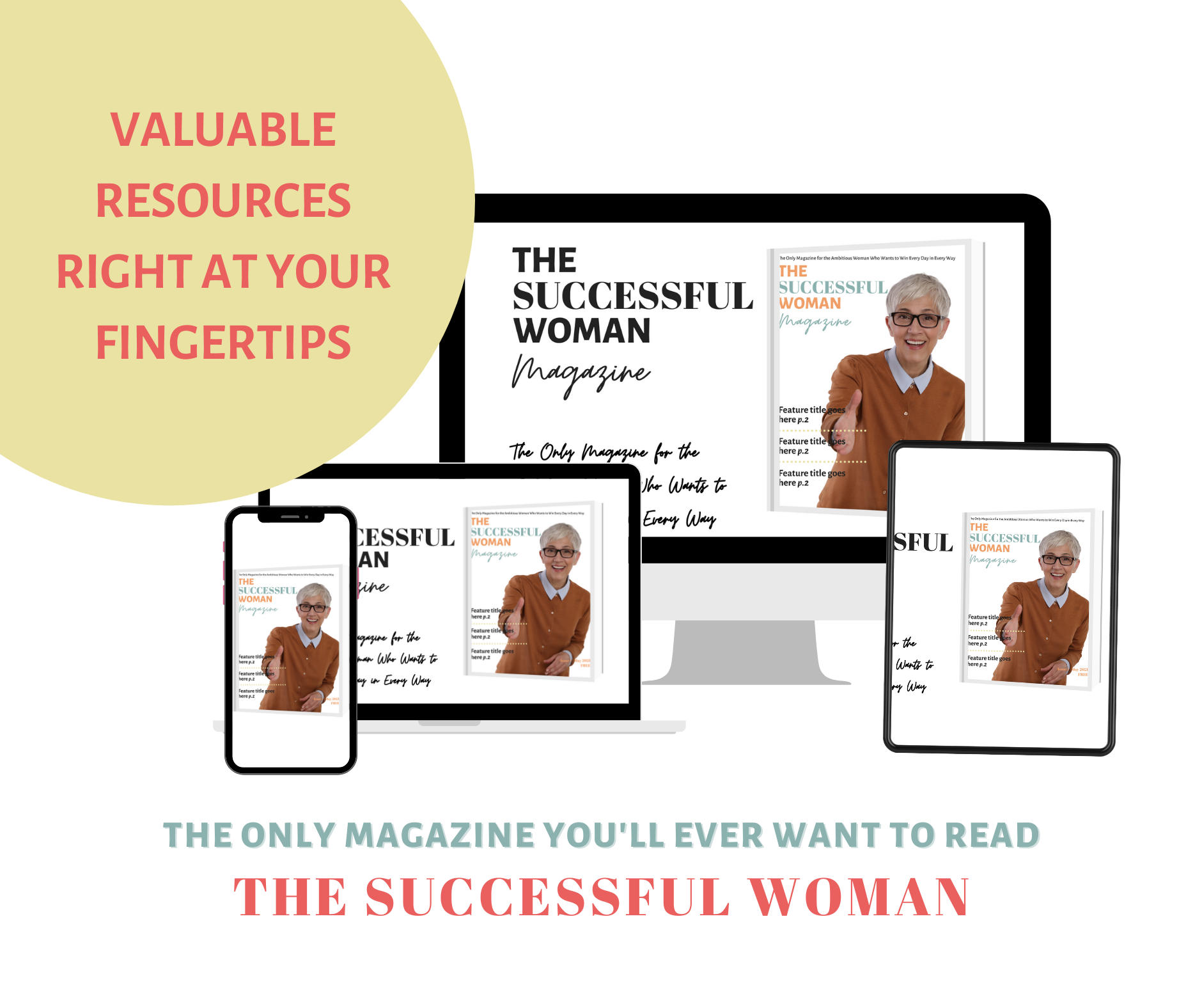 The Successful Woman Magazine ad